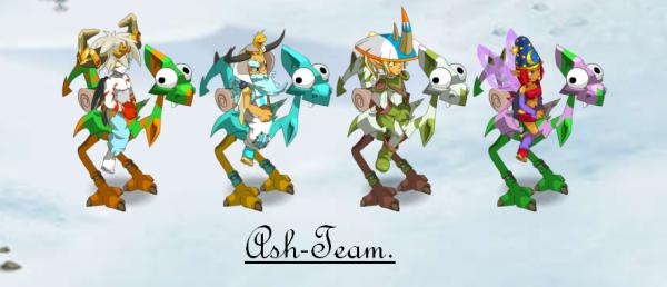 La Ash-team sur le blog d'Happening !