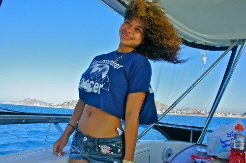 Sur Un Yacht !!
