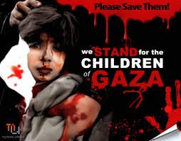 Massacre of children in Gaza