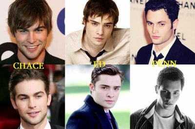 CHACE CRAWFORD - PENN BADGLEY - ED WESTWICK