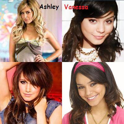 ASHLEY TISDALE OU VANESSA HUDGENS