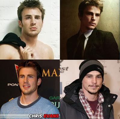 CHRIS EVANS OU JOSH HARTNETT