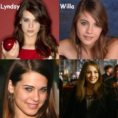 LYNDSY FONSECA OU WILLA HOLLAND
