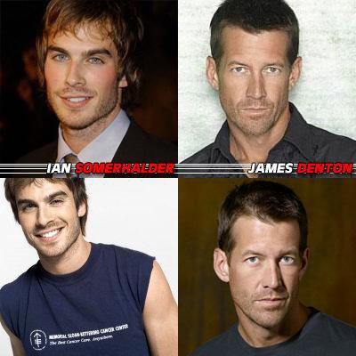IAN SOMERHALDER OU JAMES DENTON