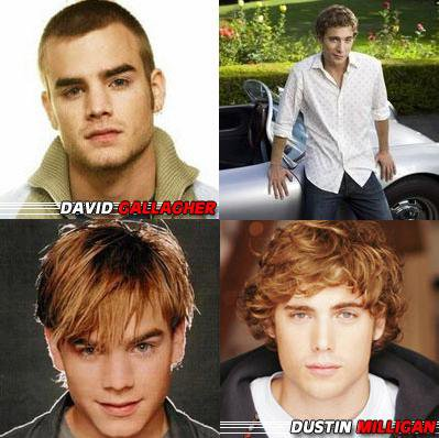 DAVID GALLAGHER OU DUSTIN MILLIGAN