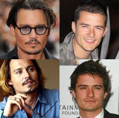 JOHNNY DEPP OU ORLANDO BLOOM