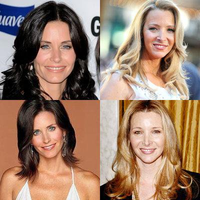 COURTENEY COX OU LISA KUDROW
