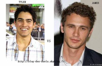 TYLER HOECHLIN OU JAMES FRANCO