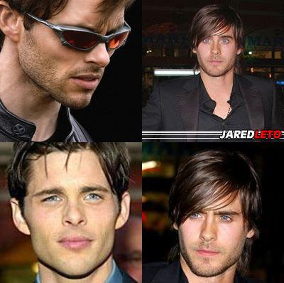 JAMES MARSDEN OU JARED LETO