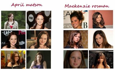 APRIL MATSON OU MACKENZIE ROSMAN