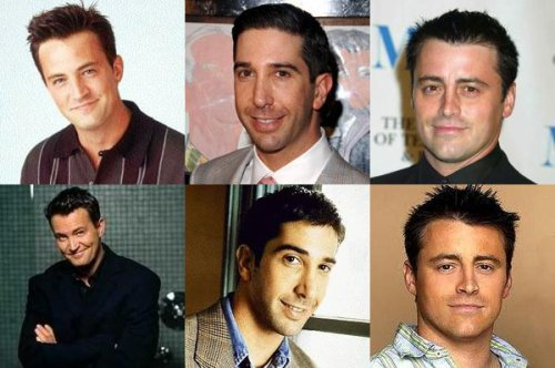 MATTHEW PERRY OU DAVID SCHWIMMER OU MATT LEBLANC