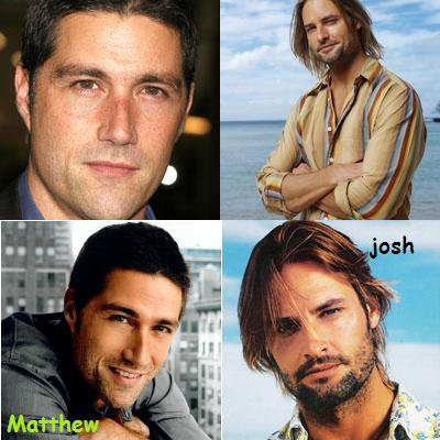 MATTHEW FOX OU JOSH HOLLOWAY