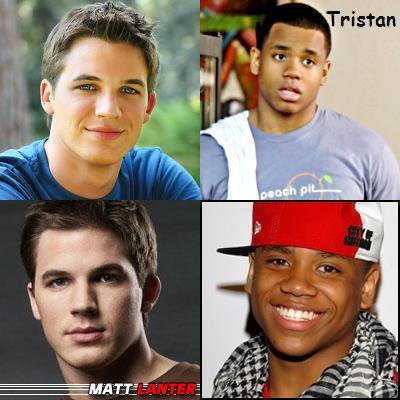 MATT LANTER OU TRISTAN WILDS