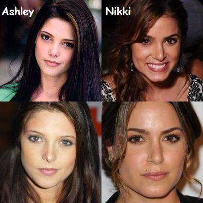 ASHLEY GREENE OU NIKKI REED