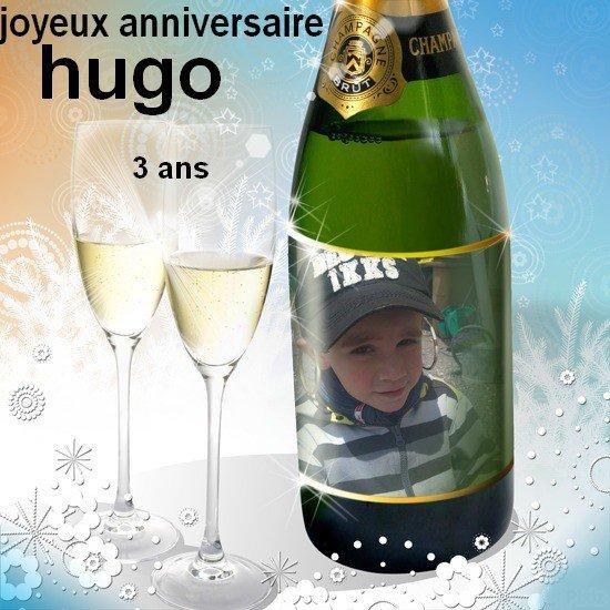 joyeux anniversaire hugo 3 ans.