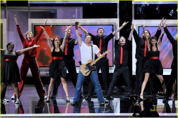 Globos de Ouro 2011 -GLEE!