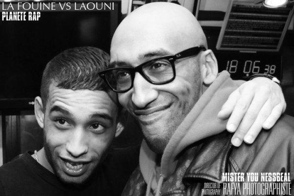 Nessbeal Et Mister You dans Planète Rap de La Fouine