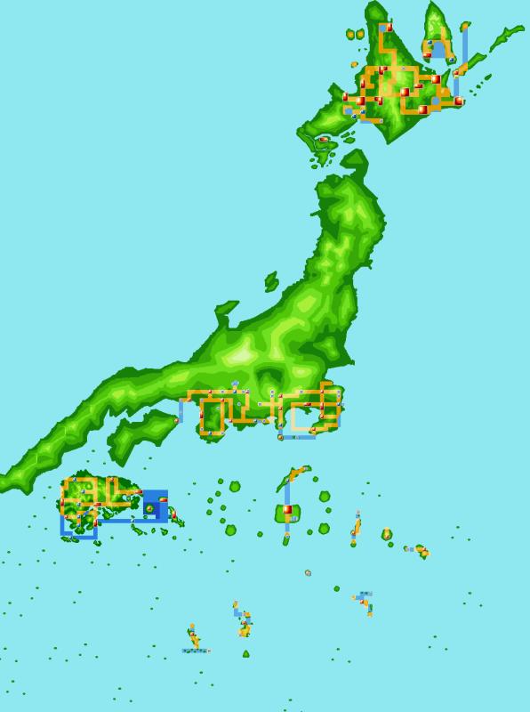 map pokemon
