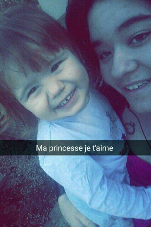 Ma princesse et mon bébé chou.