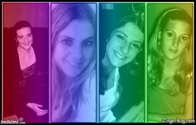 moi et 3 de mes soeur !