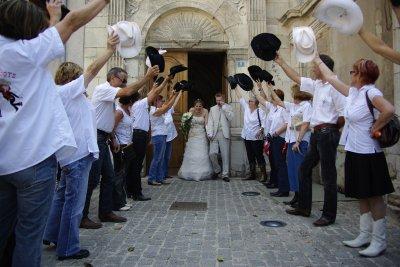 mariage de sandra& chris 07/2008
