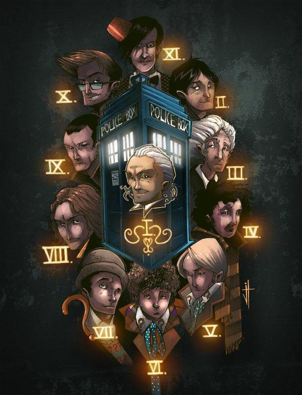 les 11 doctor en desin animer