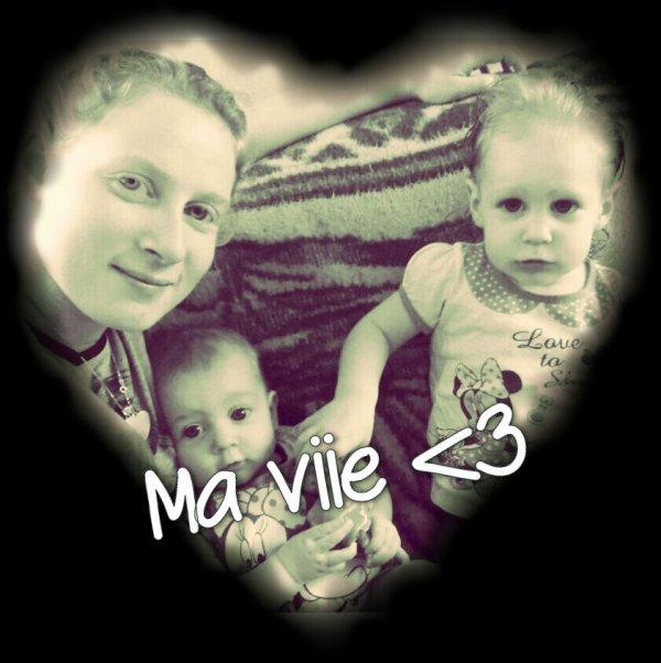 Ma vie à moi ?❤ mes deux amours Amélie&Marina ❤?