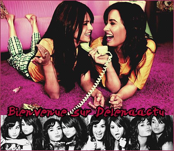 . Bienvenu(e) sur DelenaActu , ta source sur Demi Lovato et Selena Gomez. .