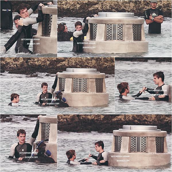 Le 26/11/2012 -  Découvrez les premières photos du tournage de « Hunger Games 2 - Catching Fire » dans la ville de Maui à Hawaï. So Cute!    TOP  ✰✰✰✰✰