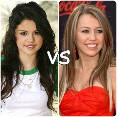 Selena Gomez Vs Miley Cyrus Laquelle Choisirez-Vous? ...