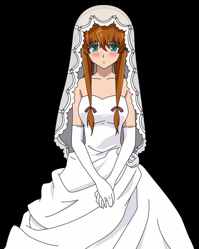 Fic', les filles en mariées.