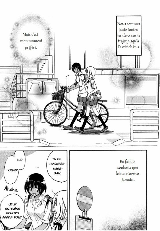 Asagao to Kase-san chapitre 2 (partie 1)