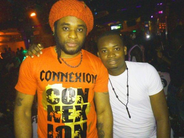 Avec DJ Lewis...
