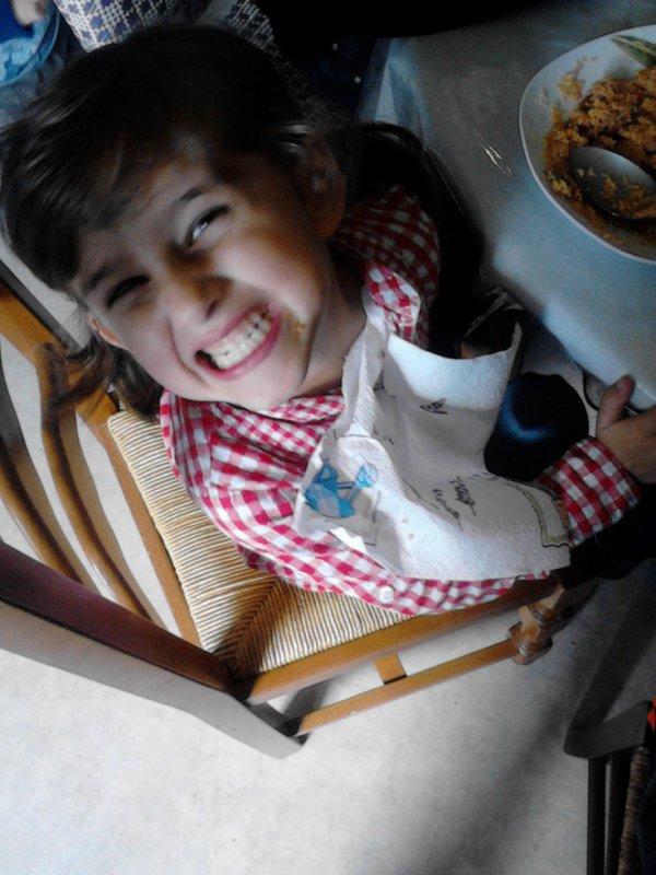 ma princesse qui mange chez ca mamie