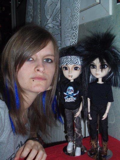Les Mini Kaulitz avec Mich