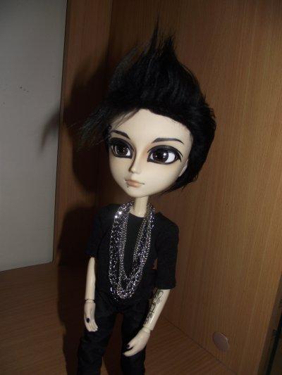 Bill et sa nouvelle perruque :D