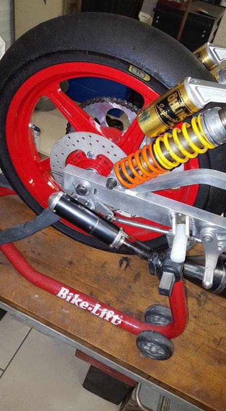 fabrication disque de frein arrière
