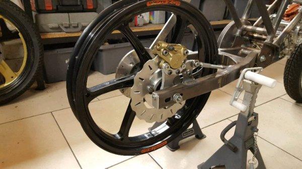 Fabrication et remontage proto Sylvain suite