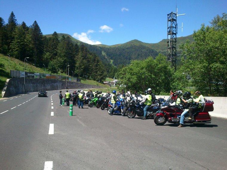 300 km en moto. MERCI BEAUCOUP!!