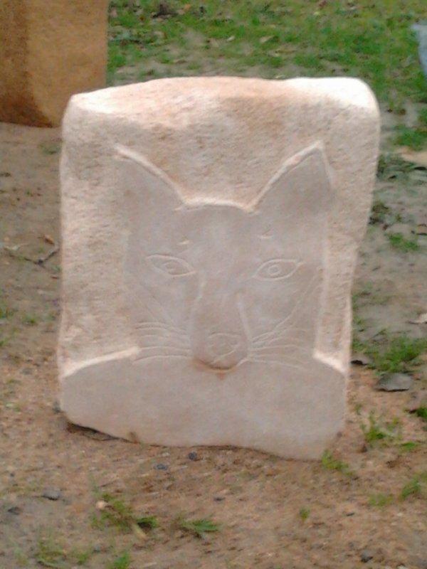bas relief pierre
