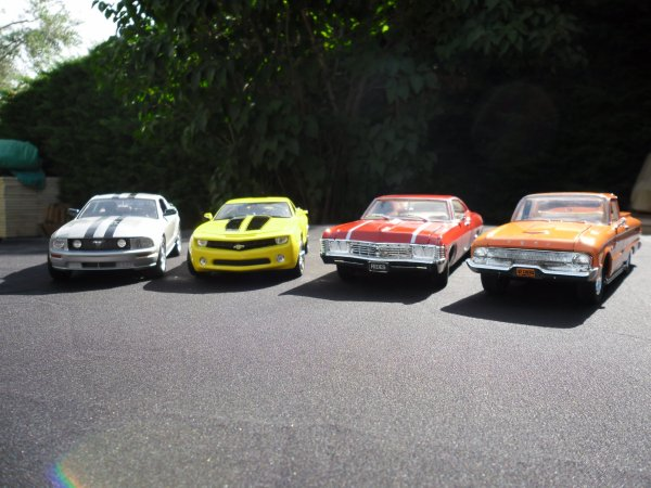 4 cars of legend