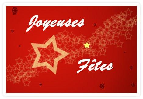 Bonnes fêtes à tous ! ^^