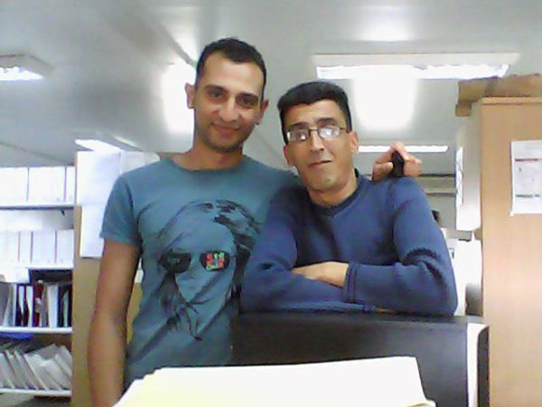 my avec un ami EGYPTIEN