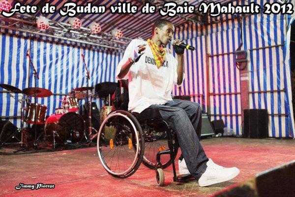Denneska à la fête du quartier de Budan (Baie-Mahault, Guadeloupe), le 14/07/12