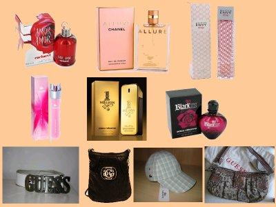 Parfums, Sacs, Casquettes, Survet Lacoste, Survet Adidas,..