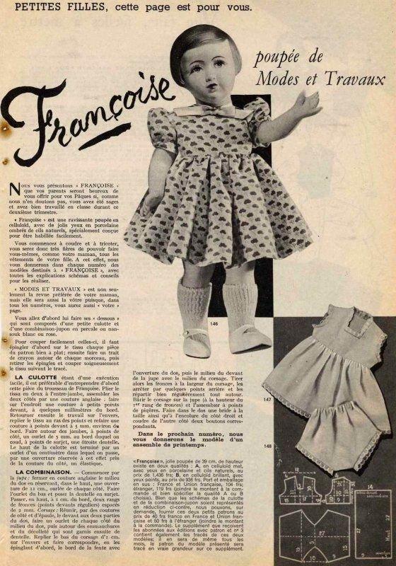 Françoise mars 1951 suite