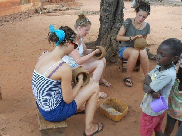 artisanat et poterie a bolou-kpémé