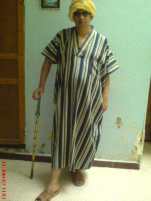 "Costumes traditionnels "" gedoira "" de tebessa"