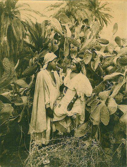 les amoureux Chaouis nememcha 1892