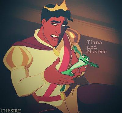 Tiana la princesse grenouille